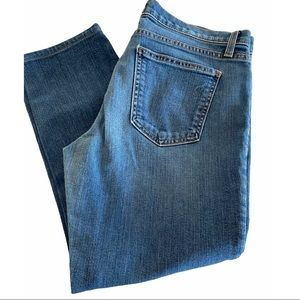 Current Elliot cropped jeans size 28